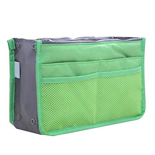Sac cosmétique Sac de Maquillage Organisateur Voyage Portable Pouch beauté Fonctionnelle Sac de Toilette Maquillage Maquillage Organisateurs Téléphone Sac Case (Color : Green)