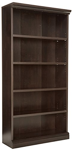 Sauder Select Library, Estate Black Finish