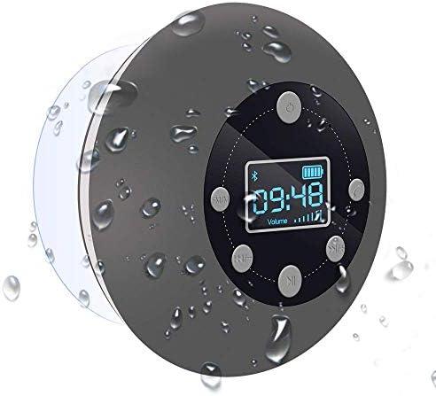 Shower Radio Bluetooth Speaker 5 0 CIYOYO Waterproof Wireless Bathroom Dab Music with Suction product image