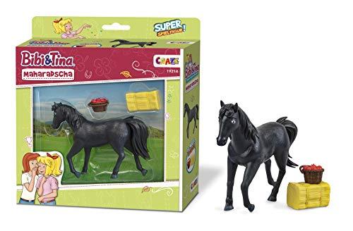 CRAZE BIBI & Tina Maharadscha Figur zum Sammeln und Spielen Pferd Spielfigur inkl. Zubehör 19214, bunt