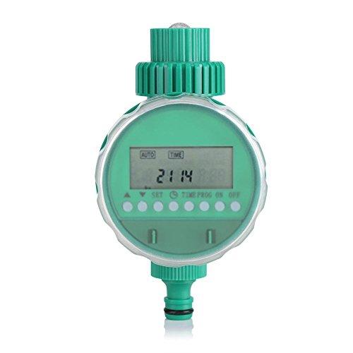 Timer Irrigazione Automatico, Sistema di Irrigazione del Giardino Intelligente Controllore Irrigazione Digitale per Fiori con Schermo LCD per Giardino Domestico, Prato Inglese, Balcone, Cortile, ecc