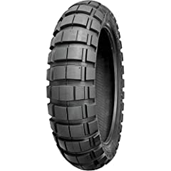 Utilizing the latest in big block tire technology these adventure tires are ideal for situations where a rider spends 40% on-road and 60% off-road.40% on-road and 60% off-road tire.Superior on-road handling and mileage.Stable sidewalls for soft surfa...