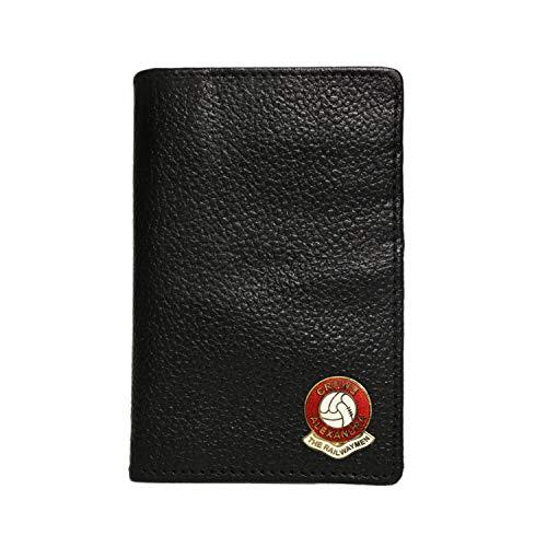 Crewe Alexandra Football Club Leather Credit Card case
