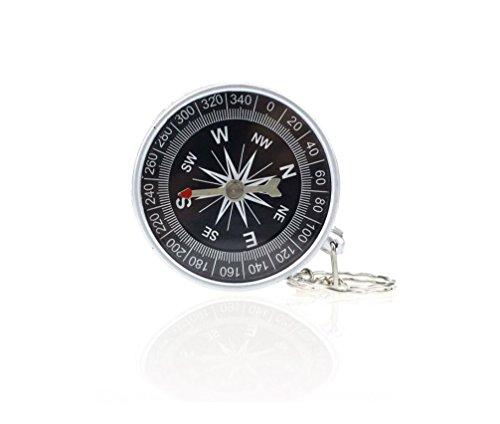Hycy Premium 1 Stücke Tasche Mini Camping Wandern Kompasse Reise Kompass Navigation Wilden Überleben Werkzeug Wanderer Navigation Geschenke