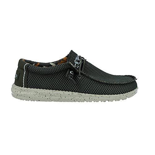 Dude Shoes Hommes en Daim Wally Tan