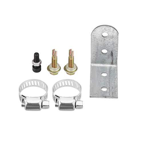 Abrazaderas de silenciador Soporte Acero inoxidable 24 mm 0,94 pulgadas Silenciador de escape Silenciador de tubo Silenciador de escape Rendimiento Reducción de ruido del automóvil Auto