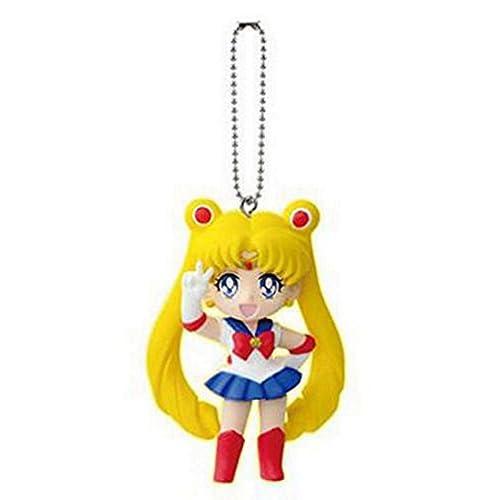 Sailor Moon 20th Anniversary Bishoujo Senshi Keychain Swing Figure Sailor Moon 1.5