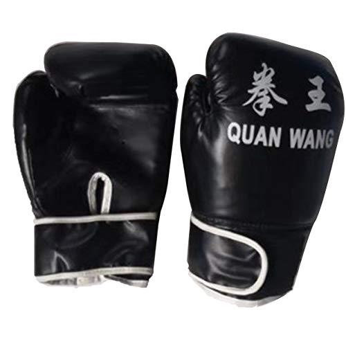 Sairis - Guantes de Boxeo para Adulto, Color Rojo y Negro, Sairis-927, Negro