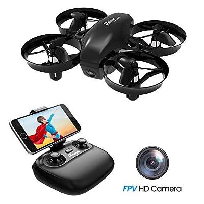 Potensic Mini Drone, WiFi FPV Nano Drone Remote Control Altitude Hold Quadcopter for Beginners, Kids