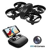 Potensic Mini Drone con Telecamera Telecomando Quadricottero WiFi Batteria...