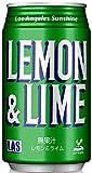 神戸居留地 LAS レモンライム 缶 350ml × 24本 国産 炭酸飲料