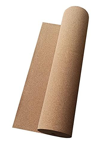 Korkplatte Trittschalldämmung Meterware Größe 1 Stück = 1 Meter Kork Rolle 2mm 3mm 4mm 6mm 8mm 10mm (2mm)
