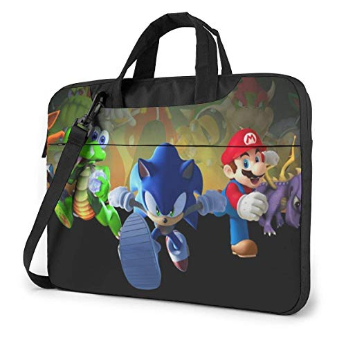 Mario Laptop Bag Tablet Briefcase Portable Protective Case Cover 15.6 inch LAPT-445