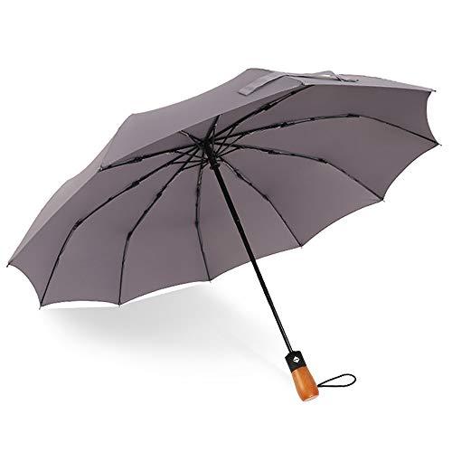 Paraguas automático d7 Toallas de Mano, 1, Gris Oscuro, Middle