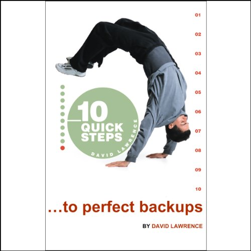 10 Quick Steps to Perfect Backups audiobook cover art