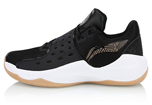 LI-NING Men Sonic Ⅵ V2 Professional Basketball Shoes Lining CJ McCollum Protection High Top Cushioning Sport Sneakers Purple ABAN027 US 9.5