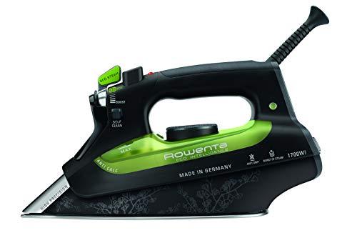 Rowenta DW6080X1 Plancha Eco Intelligence, Color Negro con Verde