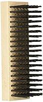 Weiler 804-44067 Block Type Scratch Brush.014 Steel Fill, Flat Face