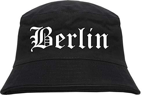 HB_Druck Berlin Fischerhut - Bucket Hat S/M Schwarz