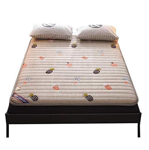 zyl Colchones de futón de 5 cm de Espesor tapete de Tatami de futón Shiki Tradicional japonés para mamá papá Esposo Esposa C 120 * 200 cm