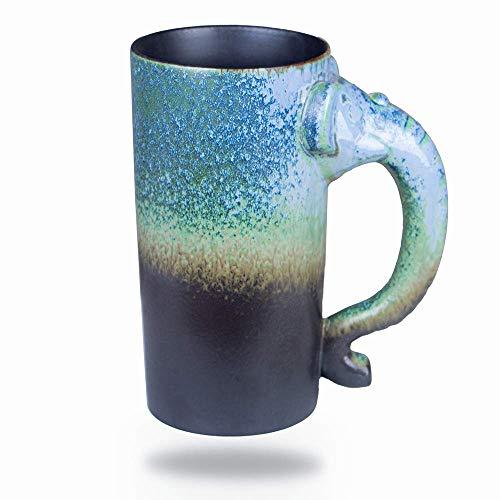 36 Ounce Extra Large Handmade Pottery Coffee Mug - Extra Large Ceramic Tea Cup Oversized (2)