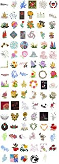 OESD C&C Treasure Chest of Embroidery Machine Designs CD FLORAL 100 DESIGNS