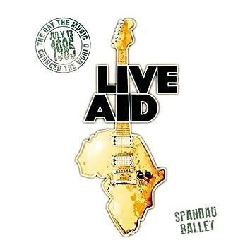 Spandau Ballet at Live Aid (Live at Wembley Stadium, 13th July 1985)
