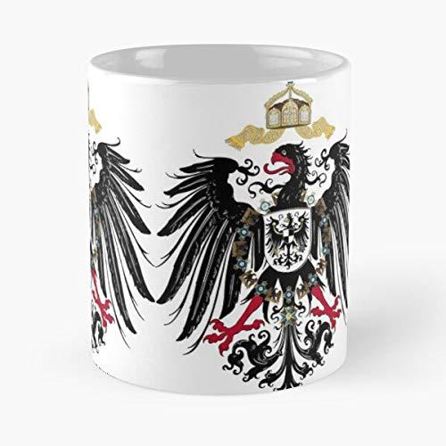 Desconocido Germany Prussia Warrior Nazi Empire German History War Taza de café con Leche 11 oz