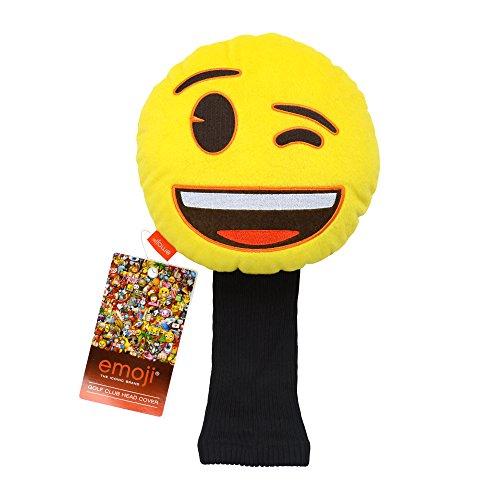 Emoji EMGH006 Couvre-Club Mixte Adulte, Jaune, N/A