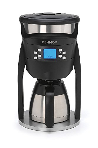 Behmor 5393 Brazen Coffee Maker, 8 cups, Stainless Steel