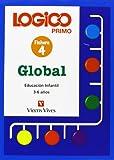 Logico Primo 4. Global. Fichas Educacion Infantil 3-6 Años. - 9788431642549