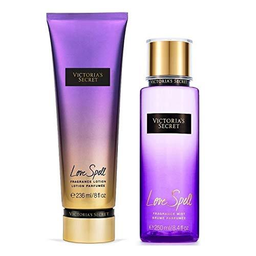 Kit Victoria's Secret Lotion + Splash Love Spell