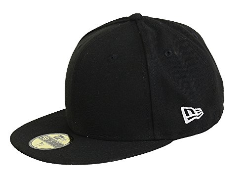 New Era Basecap 59fifty Blank Black - 7-56cm