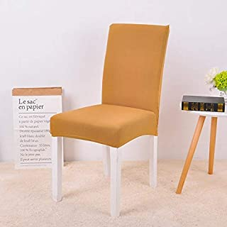 RUXMSP Chair Cover Stretch Spandex Chair Cover For Dining Room Wedding Party Elastic Multifunctional Dining Furniture Cove...