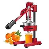 VIVOHOME Heavy Duty Commercial Manual Hand Press Citrus Orange Lemon Juicer Squeezer Machine Red