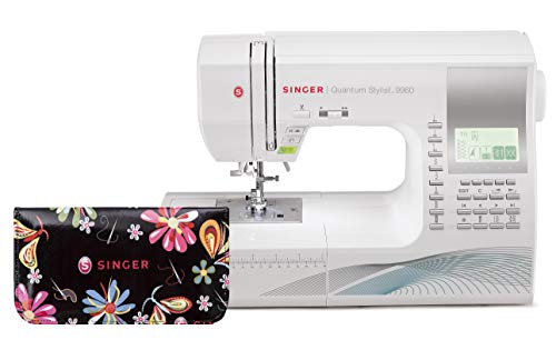 Singer | Quantum Stylist 9960 Computerized Portable Sewing Machine with Limited Edition Scissor Set