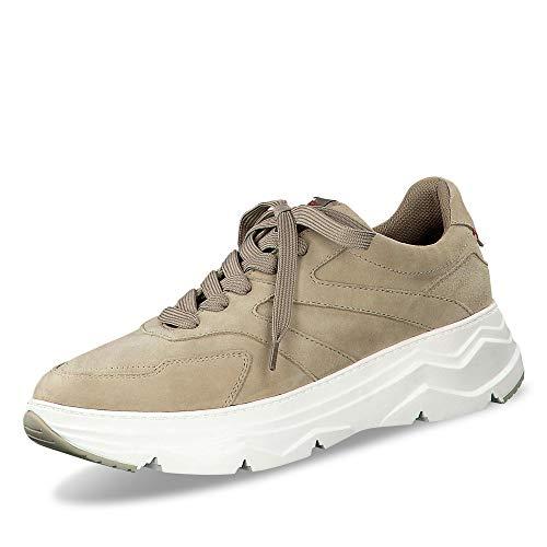 s.Oliver Damen Schnürhalbschuhe 23656-24, Frauen sportlicher Schnürer, strassenschuh Sneaker freizeitschuh Ugly-Sneaker Lady,LT Green,41 EU / 7.5 UK