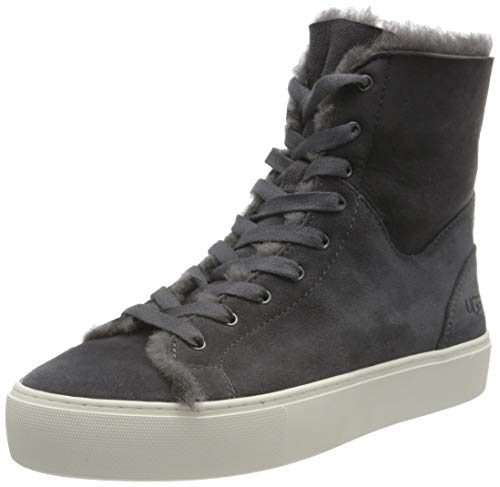 UGG Female Beven Shoe, Dark Grey, 5 (UK)