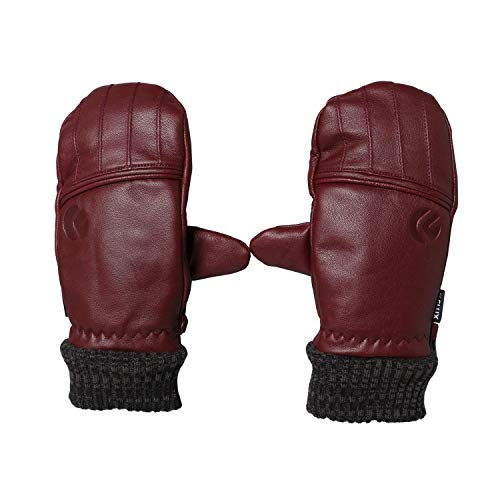 FLUX Details over TECH GLOVE Marsala Outdoor Snowboarden Winter Ski Handschoenen Wanten Sneeuw