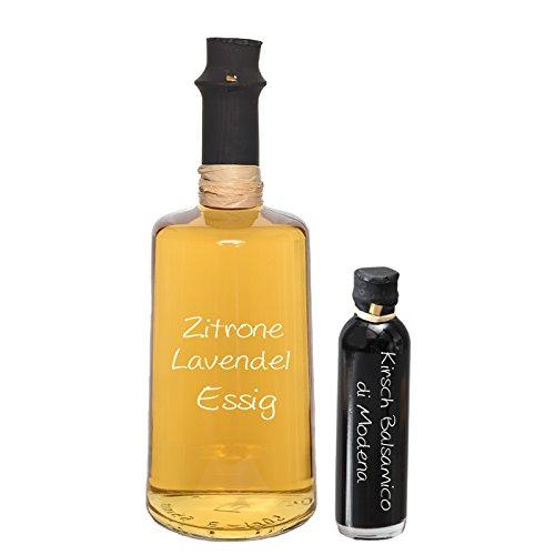Wajos Zitrone Lavendel Crema Essig 0,5l + Oliv & Co. Kirsch-Balsamico 40ml gratis dazu