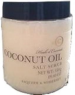 Asquith & Somerset Coconut Oil Salt Scrub - 19.40 oz