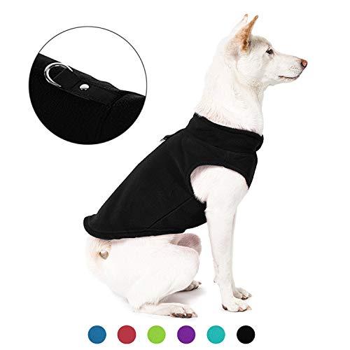Gooby Dog Fleece Vest - Premium Dog Clothes for...