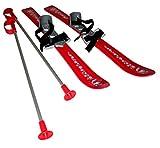 Plastkon Baby Ski 2012 - Fijaciones de esquí Alpino, Color Rojo, Talla 70 cm