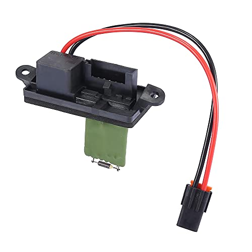 X AUTOHAUX 89019089 Car Blower Fan Motor Resistor Replacement for Chevy Silverado 1500 1999-2007