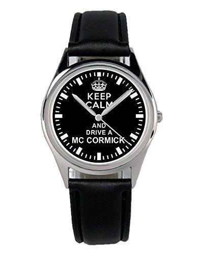 Geschenk für MC CORMICK Traktor Fans Fahrer Kiesenberg Uhr B-1610