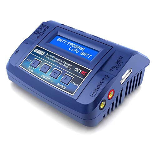 SKYRC e680 Modellbau-Multifunktionsladegerät 8 A LiPo, LiFePO, LiIon, LiHV, NiMH, NiCd, Blei