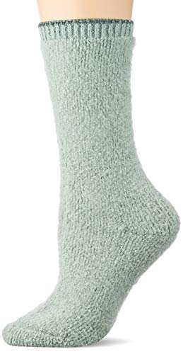 FALKE Damen Plush Touch Socken, grün (peppermint 7792), 39-42