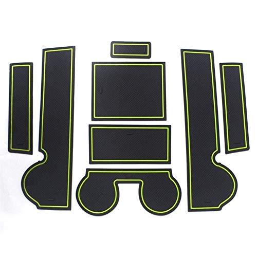 Porta Mats houder voor sleuven van de kop, cupom fit accessoires auto antislip deur Ed Center console liner accessoires voor L - A - N - C - E - R-Ex 2010-2015
