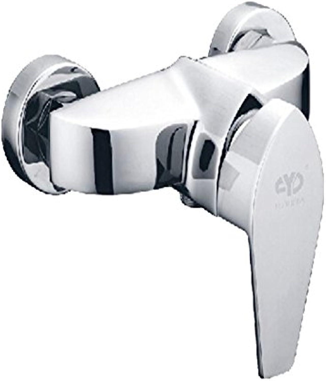 JIAHENGY Waschbeckenmischer Wasserhahn Mischbatterie Armatur Personalisierte Fashion Trend Centerset Griff Wasserfall Toilette, Nickel Gebürstet Fertig WC Küche Badezimmer