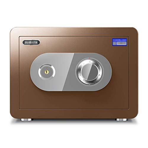 Caja fuerte de seguridad, caja fuerte para gabinete, contraseña mecánica antirrobo con llave, caja fuerte con contraseña que se puede incrustar en el armario, para oficinas bancarias cajas fuertes de